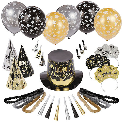 Kit For 50 - Black Tie Affair New Year's Party Kit Image #1