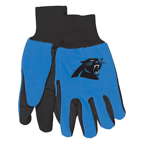 Carolina Panthers Gloves Image #1