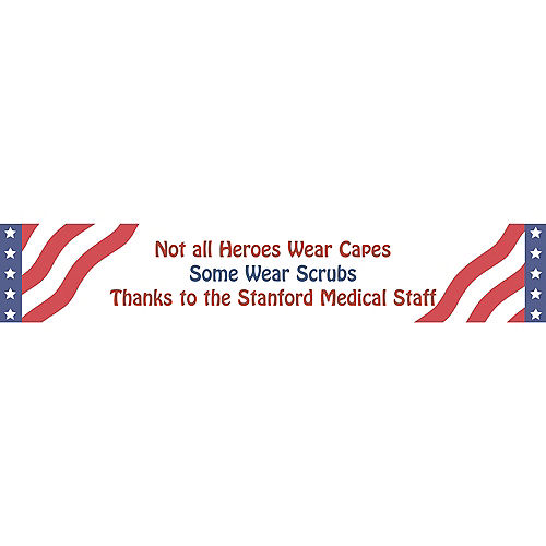 Custom All American Welcome Home Banner 6ft Image #1