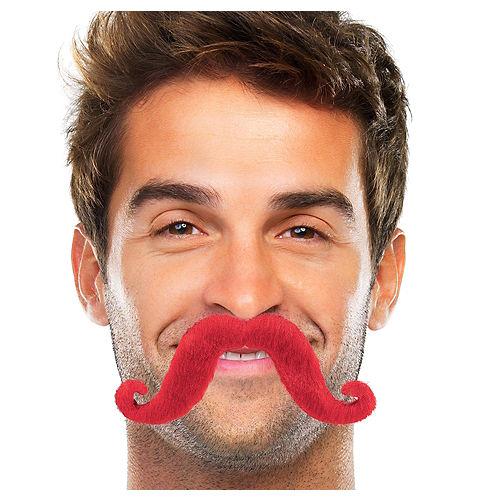 Red Handlebar Moustache Image #1