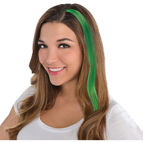 Green Hair Extension Image #1