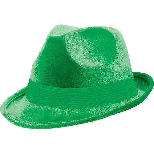 Green Suede Fedora Image #1