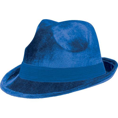 Blue Suede Fedora Image #1