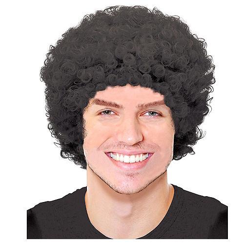 Black Curly Wig Image #1