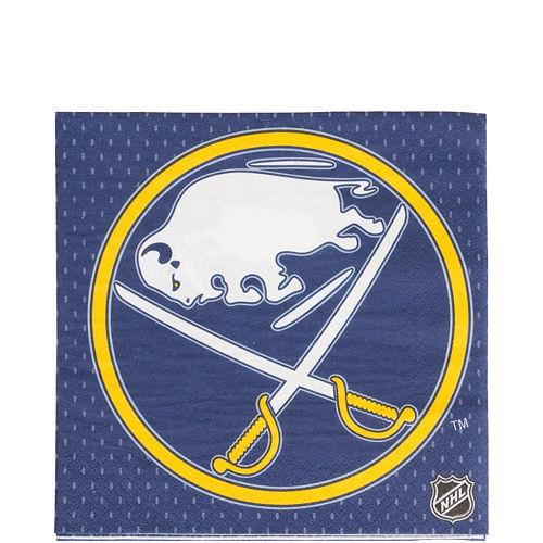 Buffalo Sabres Lunch Napkins 16ct Image #1
