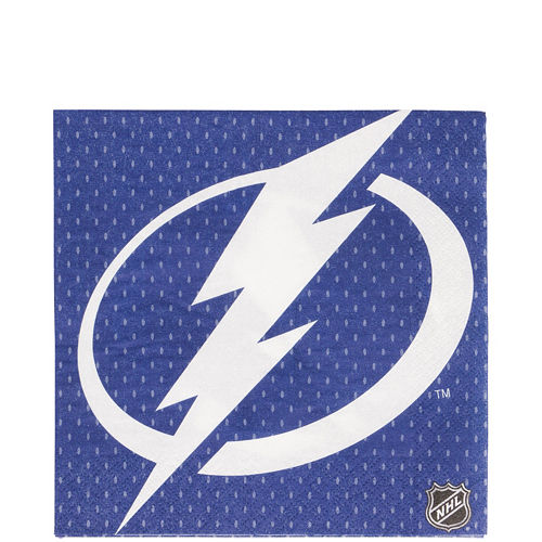 Tampa Bay Lightning Lunch Napkins 16ct Image #1