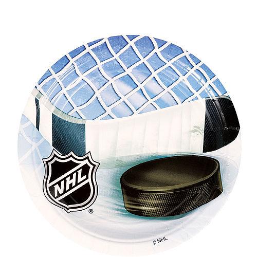 NHL Ice Time Dessert Plates 8ct Image #1