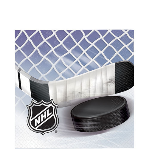NHL Ice Time Beverage Napkins 16ct Image #1