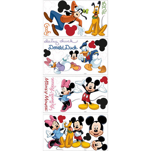 Mickey Mouse & Friends Wall Decals Image #3