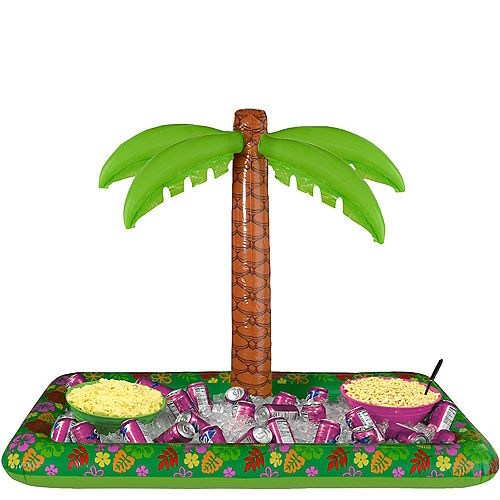 Palm Tree Inflatable Buffet Cooler Image #1