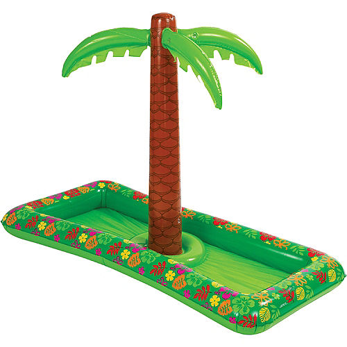 Palm Tree Inflatable Buffet Cooler Image #2