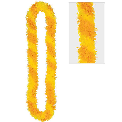 Nav Item for Two-Tone Yellow Lei Image #1
