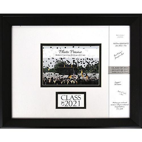 Class of 2021 Autograph Graduation Plastic Photo Frame Image #1
