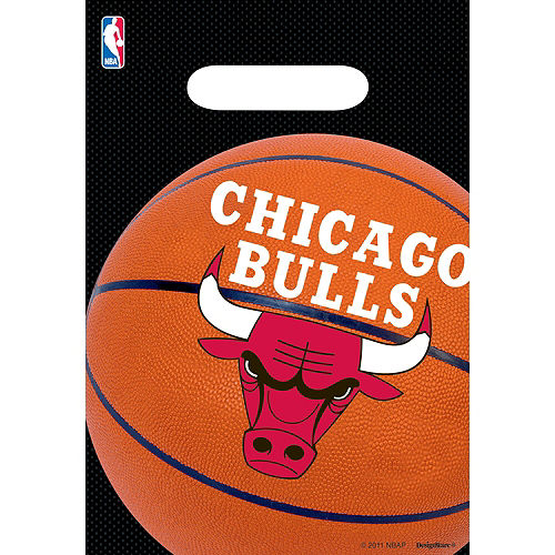 Chicago Bulls Favor Bags 8ct Image #1