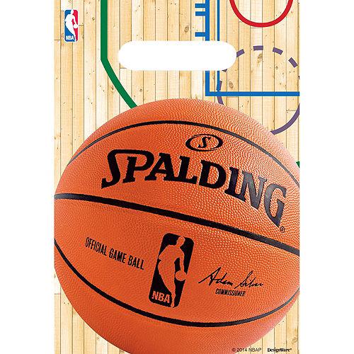 Spalding Basketball Favor Bags 8ct Image #1