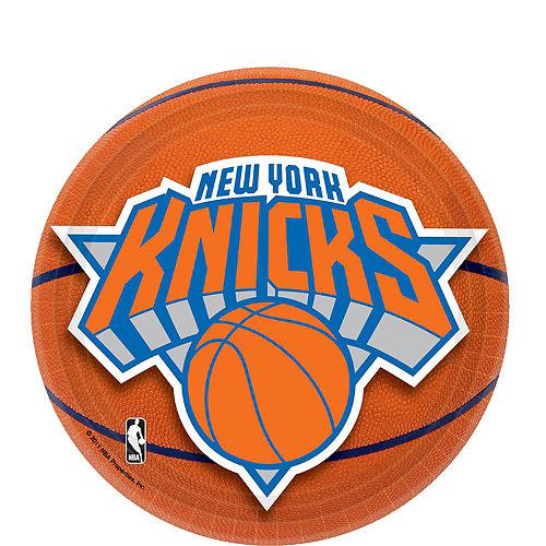 New York Knicks Dessert Plates 8ct Image #1