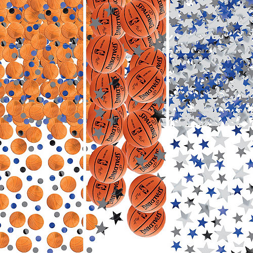 Spalding Basketball Confetti Image #1