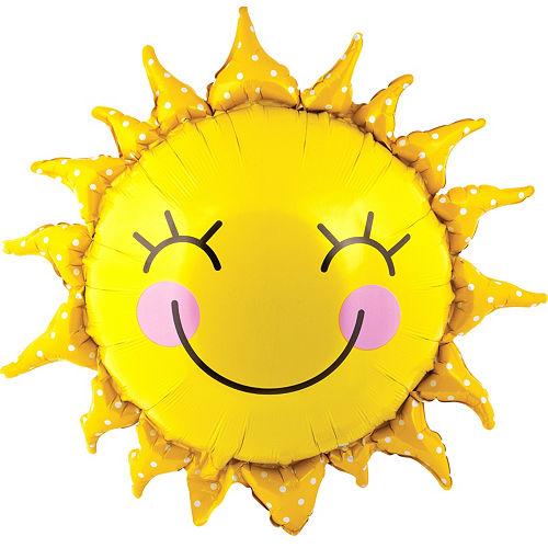 Smiling Sun Balloon, 26in Image #1