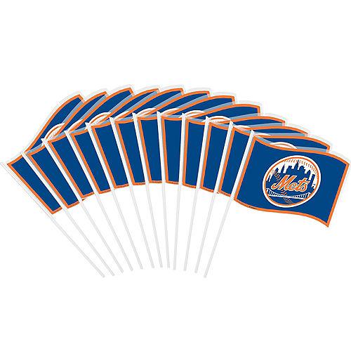 New York Mets Mini Flags 12ct Image #1