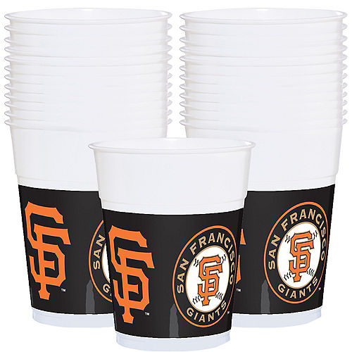 San Francisco Giants Plastic Cups 25ct Image #1