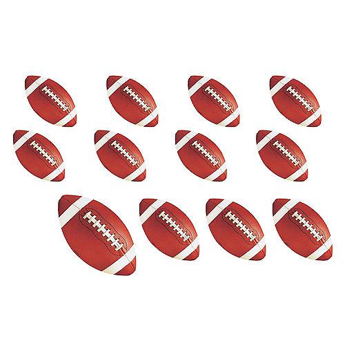 Football Cutouts 12ct Image #1
