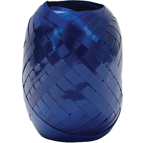 Royal Blue Curling Ribbon Keg Image #1