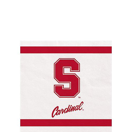 Stanford Cardinal Beverage Napkins 24ct Image #1