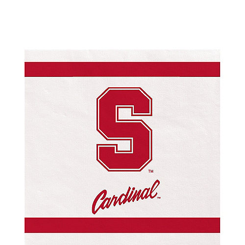 Stanford Cardinal Lunch Napkins 20ct Image #1