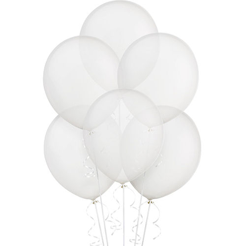 Clear Balloons 72ct, 12in Image #1