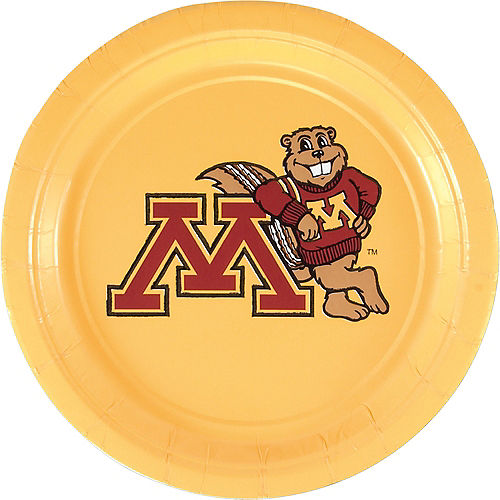 Minnesota Golden Gophers Lunch Plates 10ct Image #1