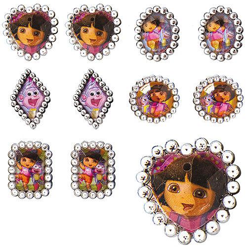 Dora the Explorer Jewel Rings 48ct Image #1