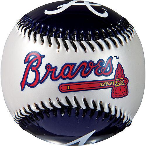 Atlanta Braves Soft Strike Baseball Image #2