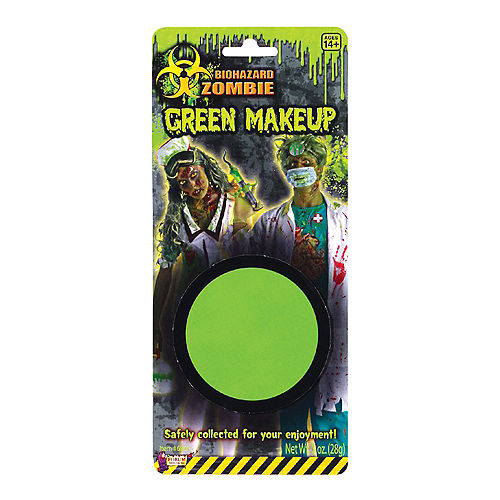 Biohazard Green Zombie Makeup 1oz Image #1