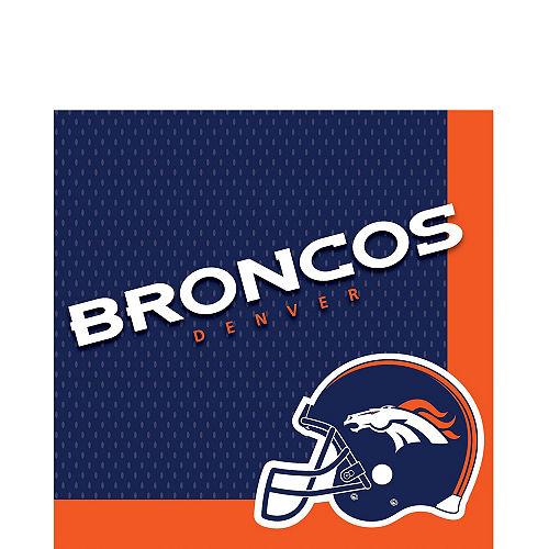 Super Denver Broncos Party Kit for 18 Guests Image #3