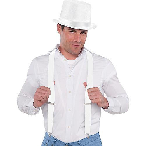 White Suspenders Image #2