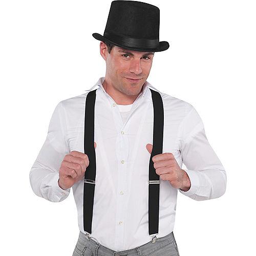 Black Suspenders Image #2