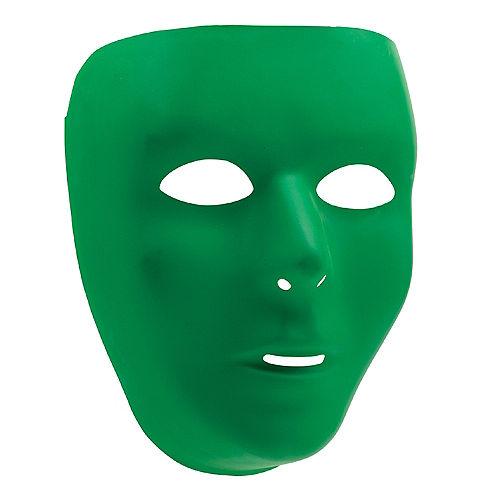 Basic Green Face Mask Image #1