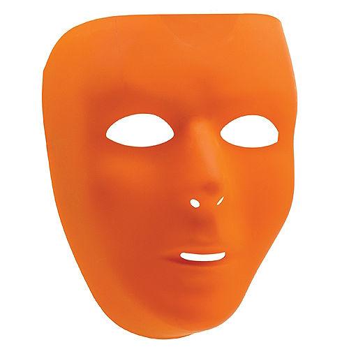 Basic Orange Face Mask Image #1