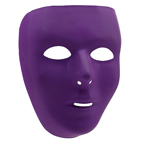 Purple Face Mask Image #1