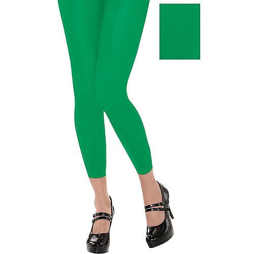 Footless Green Tights Image #1