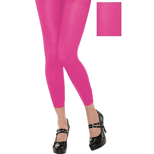 Footless Pink Tights Image #1