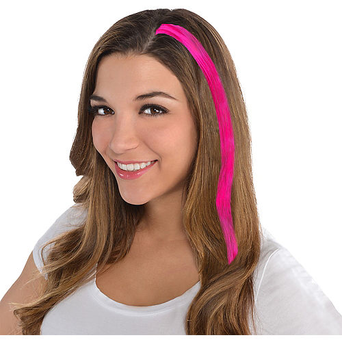 Pink Hair Extension Image #1