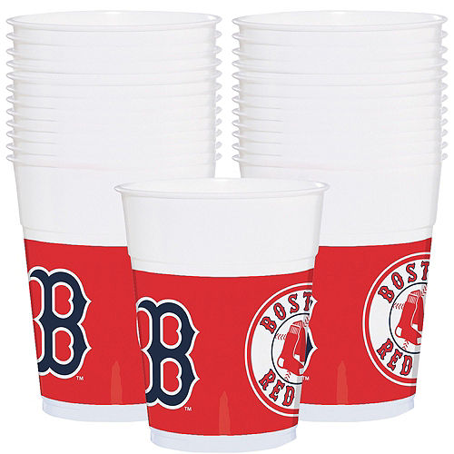 Boston Red Sox Party Kit for 18 Guests Image #4