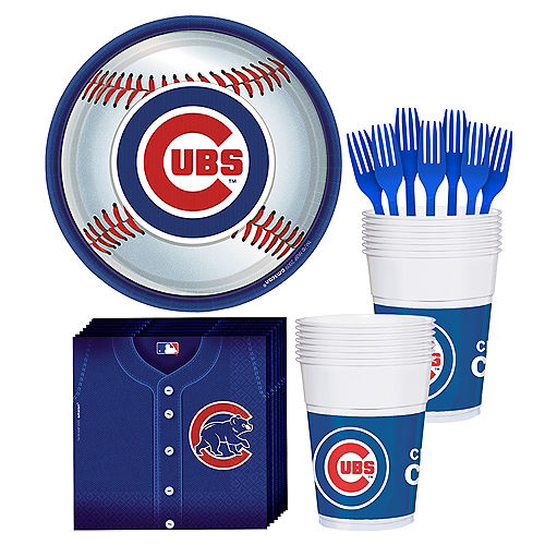 Chicago Cubs Party Kit for 18 Guests Image #1