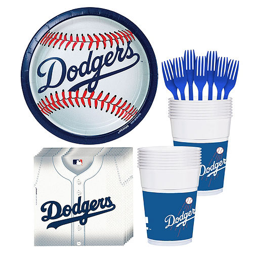 Los Angeles Dodgers Party Kit for 18 Guests Image #1