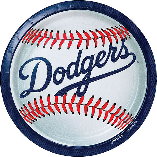 Los Angeles Dodgers Party Kit for 18 Guests Image #2