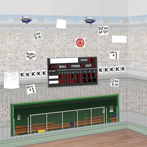 Baseball Scene Setter Add Ons 18ct Image #1