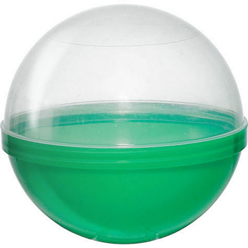 Green Ball Favor Container 12ct Image #1