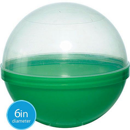 Green Ball Favor Container 12ct Image #2