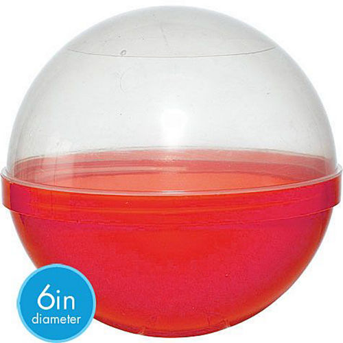 Red Ball Favor Container 12ct Image #2